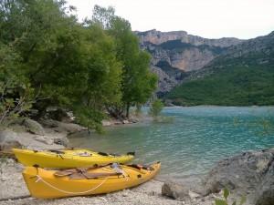 Canoe dans le Verdon